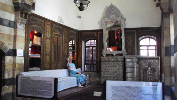 حمام قصر العظم من اقدم الحمامات في دمشق
